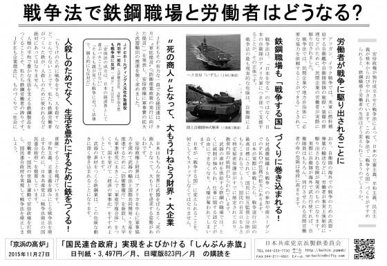 20151127京浜の高炉