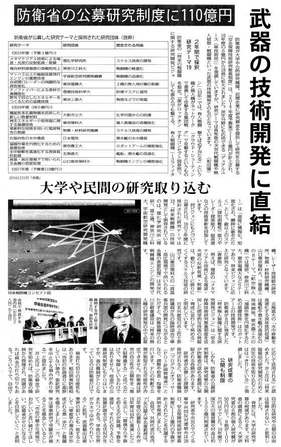 20161231防衛省公募研究