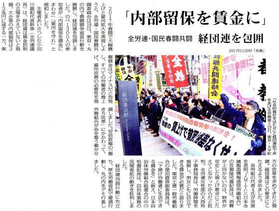20170120国民春闘経団連